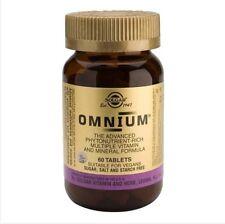 Solgar Omnium   Phytonutrient-Rich Multi-Nutrient, Food Supplement - 60 Tablets