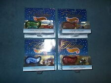 1997 Hot Wheels Holiday (Christmas) special edition car and ornament  Set of 4