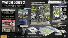 WATCH DOGS 2 THE RETURN OF DEDSEC COLLECTOR'S CASE Xbox ONE *NEW*+Warranty!!