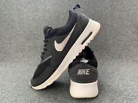 Nike Air Max Thea Women's Shoes Size 5 Black Diamonds Flats Trainers EU 38.5