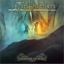FOGALORD - MASTERS OF WAR CD 2017 NEW  ensiferum rhapsody blind guardian turisas