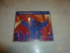 STEREO MC'S - Step It Up - 1992 UK 4-track CD single