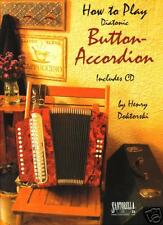 Diatonic Button Accordion Method Book & CD Vol. 1