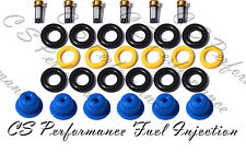 Fuel Injector Repair Service Kit Seals Filters Pintle Caps FORD 3.8 MERC CSKBO16