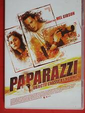 PAPARAZZI - OBJECTIF CHASSE A L'HOMME - Film de MEL GIBSON - DVD en Tbé