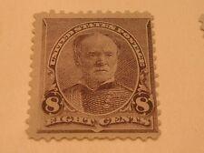 SCOTT #225  8C SHERMAN  1890  ISSUE MINT