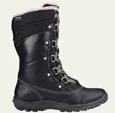 Women's Timberland Mount Hope Mid Waterproof Snow Boots Black 8709R. Size:11