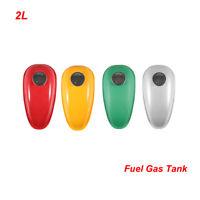 2L Fuel Gas Tank For 2 & 4 StrokeS 80cc 60cc 66cc 49cc Engine Motorized Bicycle