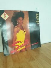 """SINITTA Right Back Where We Started From 12"""" Single Vinyl Record Fanfare 1987 EX"""