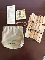 The Original Ta-Ka-Radi L.L. Bean Tiles Game, Vintage 1980's  Game