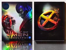 X-MEN: Apocalypse [Blu-Ray] 2D+3D (STEELBOOK), Limited 900, (A)-FULL SLIP BOX~