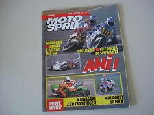 MOTOSPRINT 14/1990 KAWASAKI ZXR 750 STINGER/SUZUKI DR 800 BIG/650 RS/750 DJEBEL