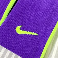 Nike 2 Pair Vapor knee High Sock Purple Size 6-8 Football