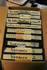 9 Large Format Adult Camcorder Tapes Assorted