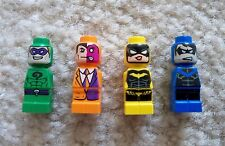 LEGO Batman - Rare - Riddler Two-Face Batgirl & Nightwing Microfigs - New 50003