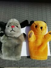 The Sooty Show on CITV ~ SOOTY ~ SWEEP Plush Hand Puppets 2008 Cadells