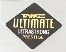1 Pair Mirror Gold sku Tang872 Tange Ultrastrong MTB Fork Tubing Decals