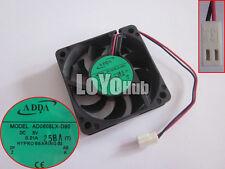 ADDA AD0605LX-D90 T 5V 0.21A 2-pin 60x60x15mm Server Square Cooling Fan HYPRO