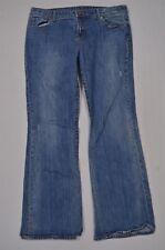 American Eagle Size 16 Favorite Boot Cut Medium Wash Distressed Denim Jeans