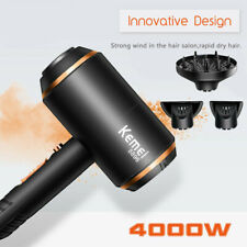 UK 4000W Salon Professional Negative Ionic Hair Dryer Blower Straightener Curler