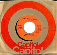 """Buck Owens - Arms Full Of Empty - Import - 7"""" Single"""