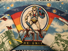 1980's He-Man Masters of the Universe 3 Piece Twin Sheet Set. Clean/No Rips Rare