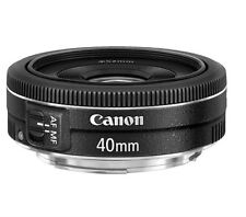 New Canon EF 40mm F/2.8 STM For Canon Fixed - Black