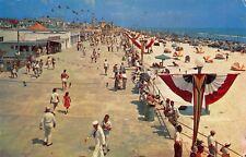 Daytona Beach FL Boardwalks Sailor~Bunting~Carnival Games~Ferris Wheels 1960