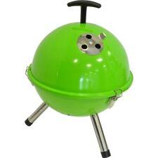 Mini BBQ Kugelgrill grün Holzkohlegrill