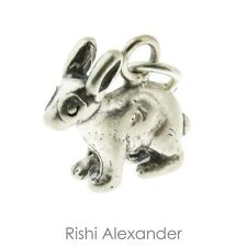 925 Sterling Silver Bunny Rabbit Charm
