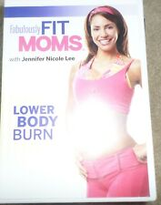 Fabulously Fit Moms Lower Body Workout Fitness Exercise DVD Jennifer Nicole