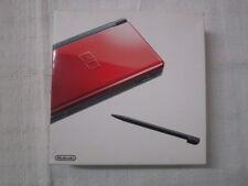 E515 Nintendo DS Lite console Crimson / Black Japan NDS w/stylus pen w/box