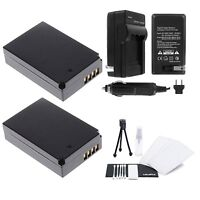 LP-E12 Battery 2-Pack Bundle with Rapid Travel Charger and UltraPro Accessory...