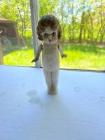 Vintage 1950's 60's Porcelain Made In Japan Childs Girl Toy Doll Figurine