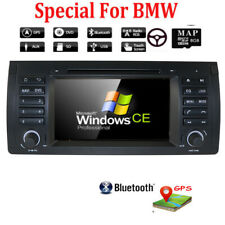 "7"" Car Stereo DVD GPS Player 2 DIN RDS Radio BT Touch Screen for BMW E53 X5 E39"