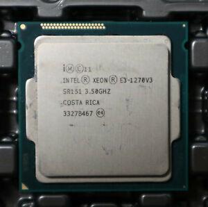 Intel Xeon E3-1270v3 E3 1270 v3 4x 3.50GHz SR151 CPU Sockel 1150 * Händler *
