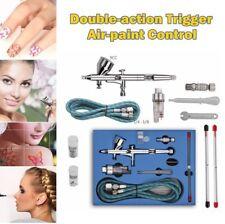 Double-action Trigger Air-paint Control Airbrush Kit Air Brush Spray Gun Set