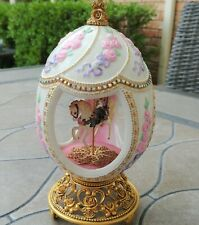 House of Faberge (96 Tfm) Musical Carousel Egg; Carousel Waltz