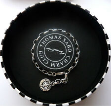 NEW Authentic 10th Anniversary Diamond THOMAS SABO CHARM CLUB Silver Bracelet