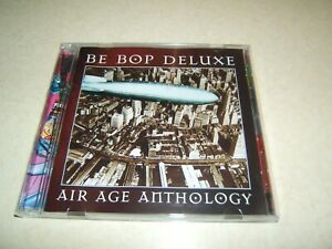 BE BOP DELUXE : AIR AGE ANTHOLOGY   2 DISC CD ALBUM  1997