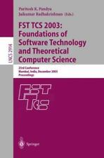 FST TCS 2003: Foundations of Software Technology and Theoretical Computer