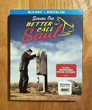 Better Call Saul: Season One 1 (2015) Brand New 3-Disc Blu-ray + Digital HD