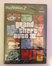 New Sealed Grand Theft Auto 3 Iii (Trilogy) Playstation 2 Ps2 Gta 3