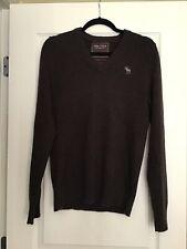 Vintage Abercrombie Ezra Cashmere V-Neck Sweater