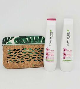 Matrix Biolage ColorLast Shampoo and Conditioner 13.5 oz Duo Set w/make up case