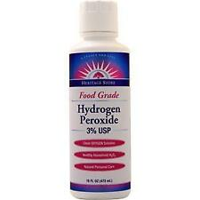 Heritage Products Hydrogen Peroxide - Food Grade (3% USP)  16 fl.oz