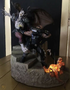 AWESOME NEW Marvel Blade VS Dracula Polystone Diorama SIDESHOW HUGE Statue SALE