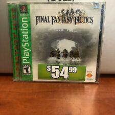 Final Fantasy Tactics (Sony PlayStation 1, 1998) New