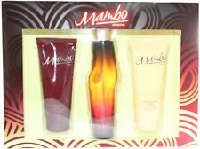 Mambo by Liz Claiborne 3Pcs Set 3.4 oz Col Spray+3.4oz B.L+3.4oz B.W
