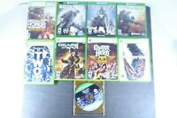 Xbox 360 And Xbox One Video Games Various Titles Mixed Genre Mixed Lot Of 9